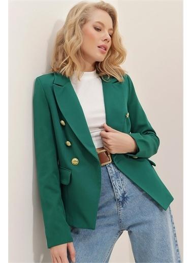 Pink Park Ceket Yeşil